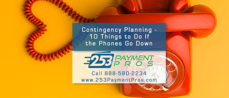 Here are ten contingency planning ideas to cope and compensate the next time business emergencies affect to your organization.
