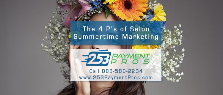 The 4 P's of Summertime Salon Marketing