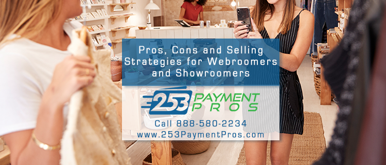 Webroomers and Showroomers - Pros Cons and Conversion Strategies